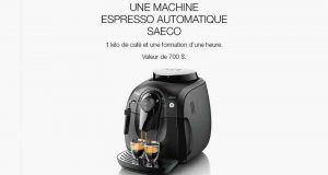 Machine espresso automatique Saeco + café