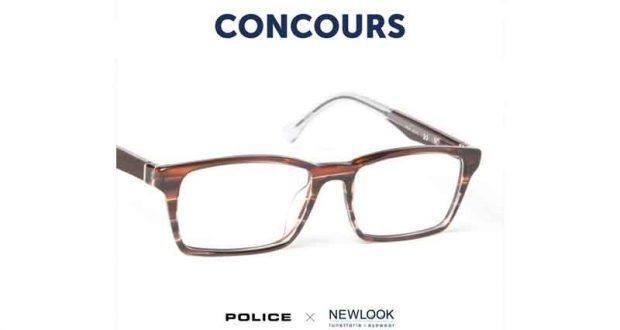 Paire de lunettes de marque Police
