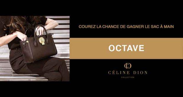 Sac à main OCTAVE noire de Céline Dion Collection