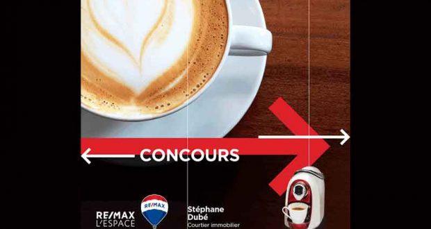 Une machine à café, de marque Caffitaly