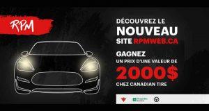 2000 $ chez Canadian Tire
