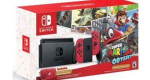 3 éditions Super Mario Odyssey de Nintendo Switch (469$)