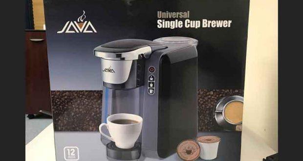 Cafetière compatible avec les K-cups