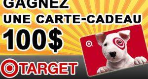Carte-cadeau 100 $ Target pour achats en ligne