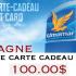 Carte cadeau d'essence chez Ultramar de 100$