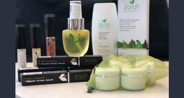 Ensemble de produits Zorah biocosmétiques