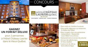 Forfait au Château Laurier ou à la Station Touristique Duchesnay