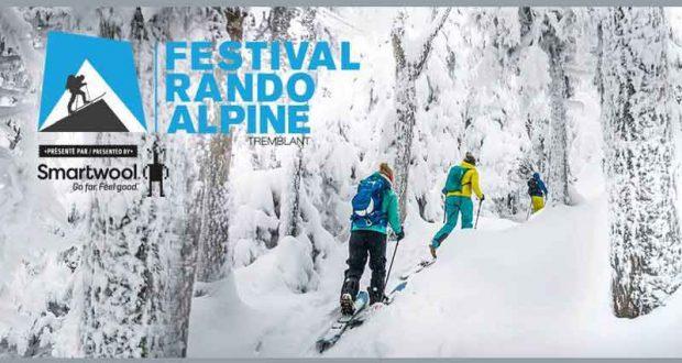 Forfait nuitée au Festival Rando Alpine (800$)