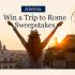 Gagnez un voyage pour deux à Rome (4 000 $)