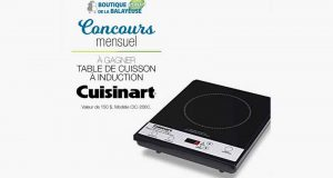 Table de cuisson à induction Cuisinart