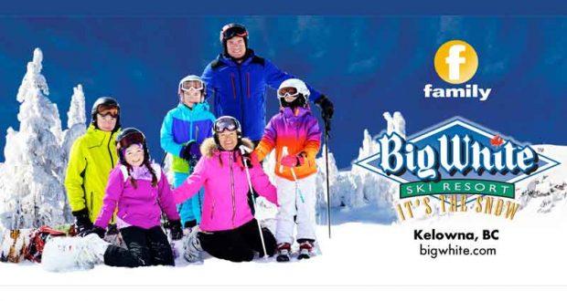 Voyage de ski en famille en Colombie Britannique (8558$)