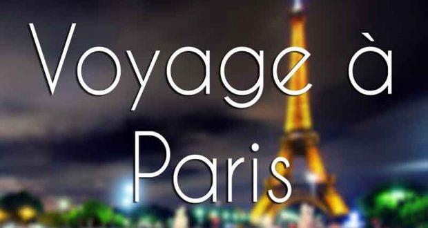 Voyage pour deux personnes à Paris (4025$)