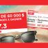20 Voyages destination Soleil de 3 000$ chacun