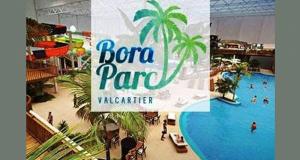 4 laissez-passer pour le Bora Parc Valcartier