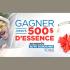 Gagnez chaque jour 500$ en carte d'essence