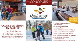 Séjour en famille à la Station Touristique Duchesnay