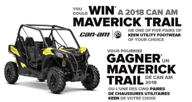 Un Can Am Maverick Trail VHU 2018 (13 300 $)