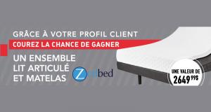 Un ensemble de lit articulé et matelas Zedbed (2650$)