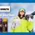 Une paire de ski Racoon de 800$