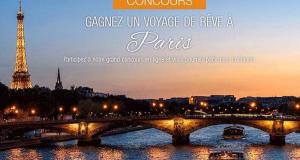 Voyage de rêve pour 2 personnes à Paris (6 400 $)