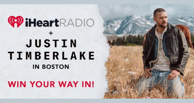 Voyage pour 2 à Boston pour voir Justin Timberlake (4320$)