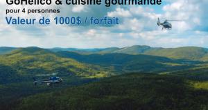 10 forfaits GoHelico et cuisine gourmande