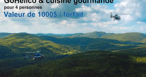 10 forfaits gohelico et cuisine gourmande qu bec for Cuisine gourmande