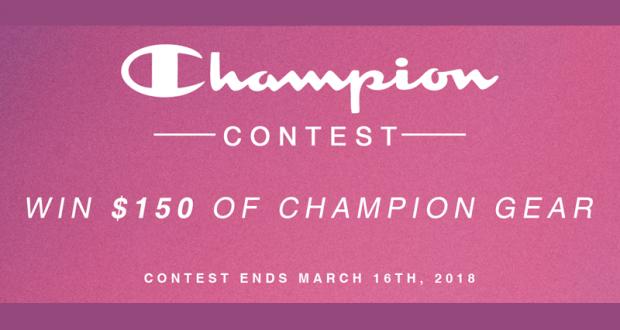 150 $ de vêtements Champion