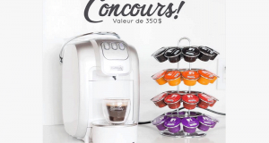 50 boîtes de café (500 capsules - valeur de 350$)