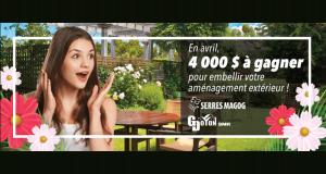 500 $ pour embellir votre aménagement extérieur