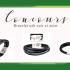 Bracelet chargeur SmartPhone en cuir et acier