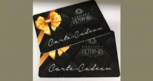 Cartes-cadeaux de 100$ à la Bijouterie L'eternel
