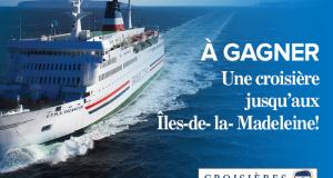 Croisière d'une semaine de Montréal aux Îles de la Madeleine