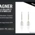 Ensemble collier et boucles d'oreilles, perles rondes d'eau douce