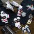 Ensemble de chaussettes Superstar, bandeaux et t-shirt