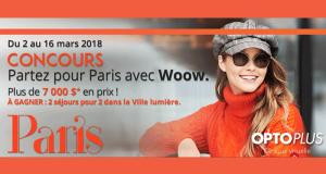 Gagnez des Voyages pour deux à Paris