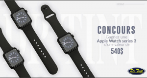 Gagnez une Apple Watch Series 3