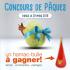 Hamac-bulle orangé