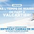 Un certificat-cadeau de 300 $ du Village vacances Valcartier