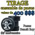 Un ensemble de 4 pneus de 400$
