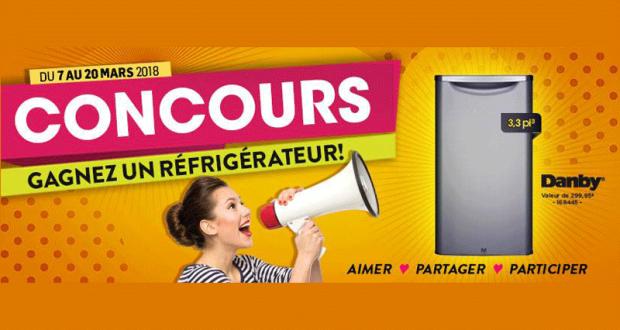 Un réfrigérateur 3,3pi³ de marque Danby