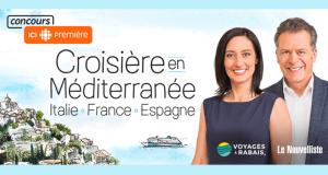 Une croisière pour deux personnes sur la Méditerranée