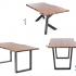 Table de cuisine signé Concept M Rustique