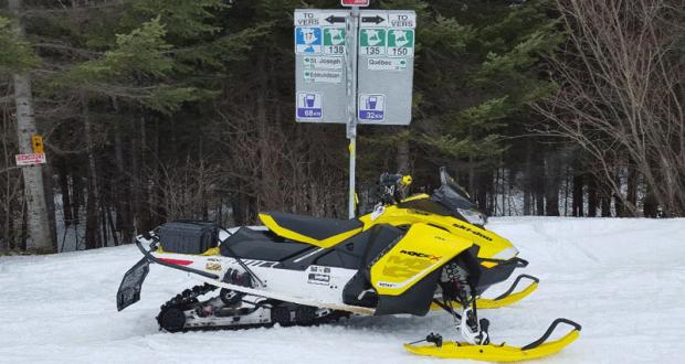 Voyage pour deux en motoneige au Nouveau-Brunswick