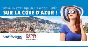 Voyage pour deux personnes sur la Côte d'Azur