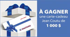Carte-cadeau Jean Coutu de 1 000 $