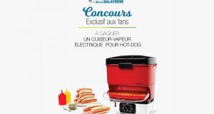 Cuiseur vapeur électrique portable pour hot-dog