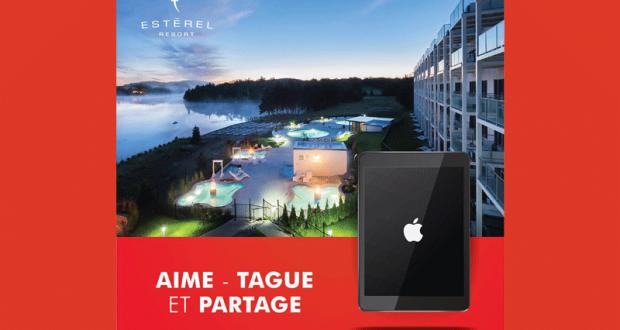 Forfait tout inclus à l'Estérel Resort Ou un iPad d'Apple