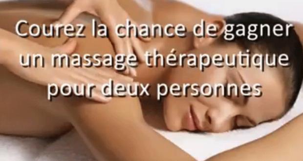 Gagnez un massage pour vous et votre ami