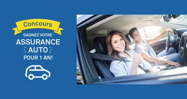 Gagnez votre Assurance-auto pour un an